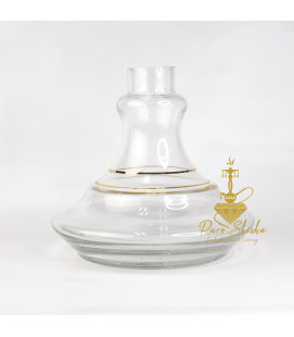 Base Gold Lines 15 cm - Clear